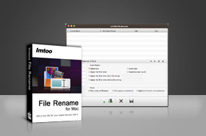 ImTOO File Rename for Mac