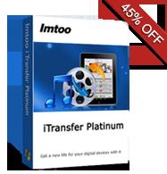 45% OFF for iTransfer Platinum