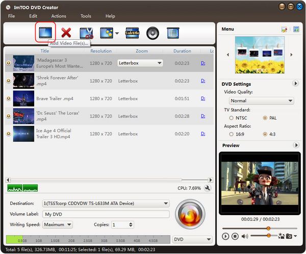MKV to DVD Converter