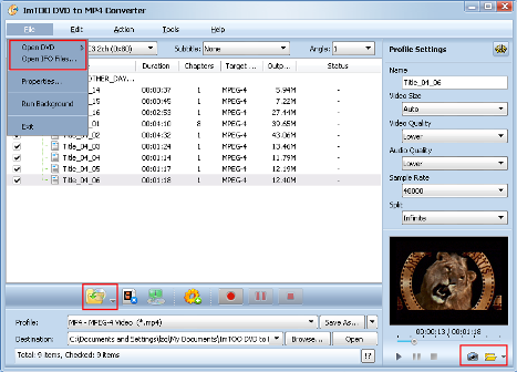 ImTOO DVD to MP4 Converter Guide - Add DVD
