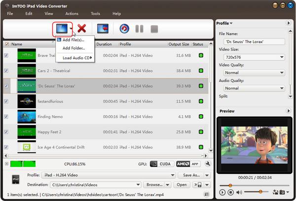 DivX to iPad