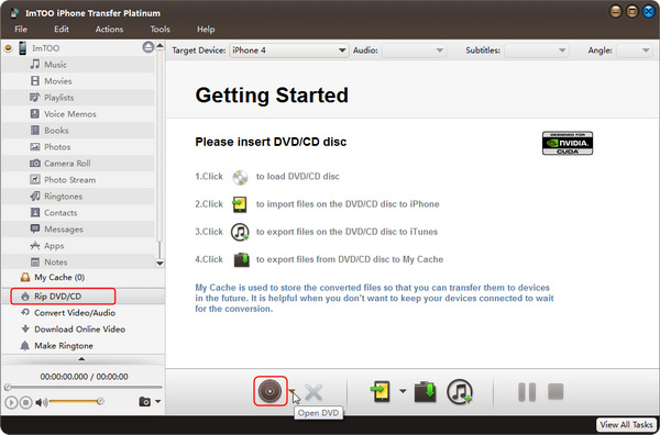 Convert DVD movies to iPhone