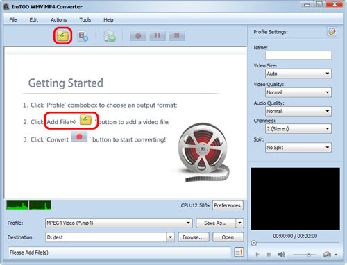 How to convert WMV files to MP4 format, convert MP4 files to