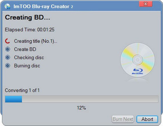 ImTOO Blu-ray Creator Express