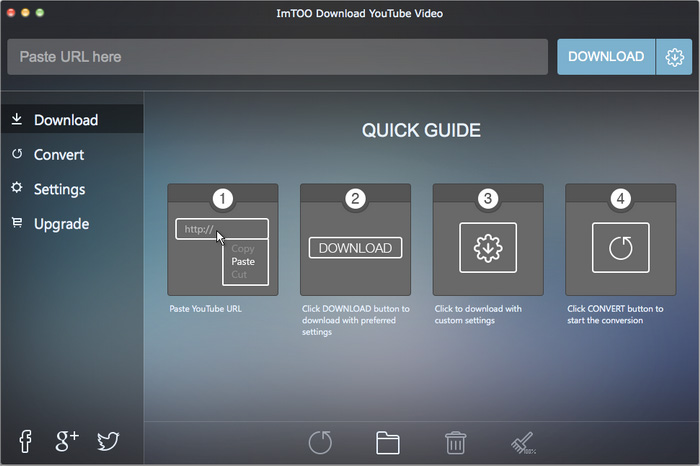 ImTOO Download YouTube Video for Mac