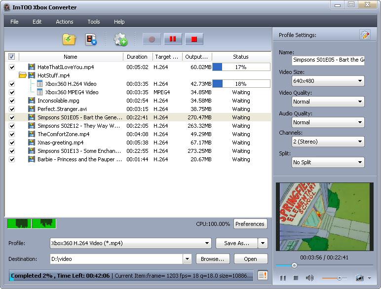 التعريب 620 ـ ImTOO Xbox Converter 5 لتحويل صيغ الفيديو إلى Xbox أو Xbox 360 xbox-converter.jpg